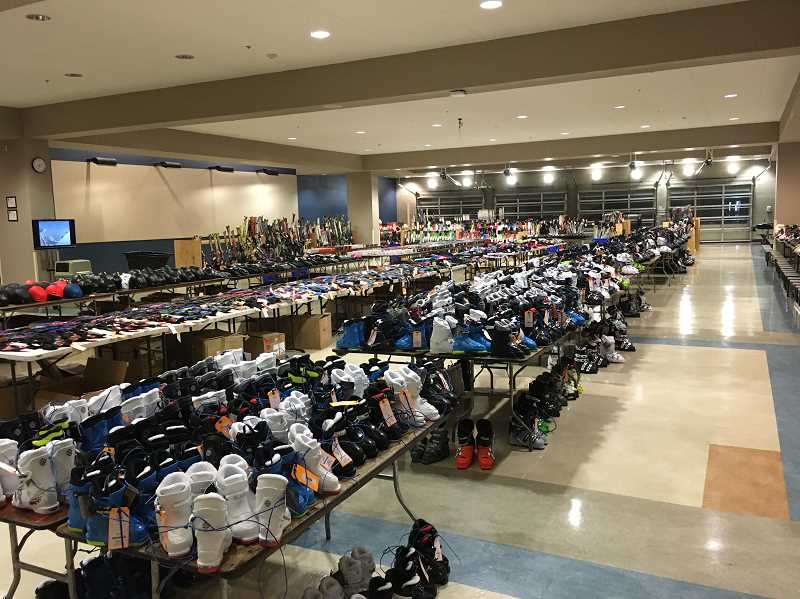 COURTESY PHOTO - The impressive spread of gear for sale on Saturday.