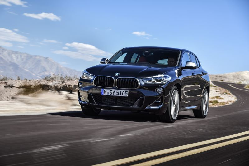 BMW OF NORTH AMERICA - The BMW X2 M35i is a subcompact performance vehicle that blurs the line between small crossovers and hatchbacks, and sets the performance standard for both.