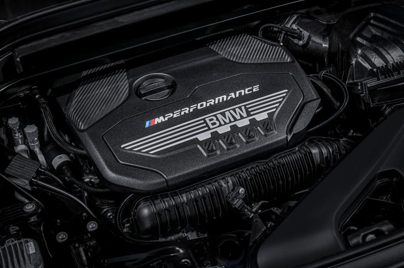 BMW OF NORTH AMERICA - The TwinPower turbocharged 2.0-liter four-cylinder engine in the BMW X2 35i produces an impressive 302 horsepwoer and 332 foot-pounds of torque.