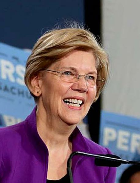 FACEBOOK - Elizabeth Warren is the favorite of Oregon Democratic Party activists.