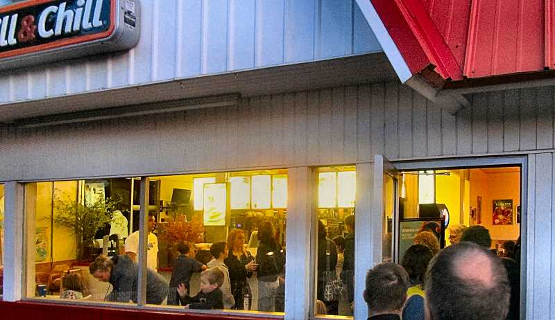 ERIC NORBERG - As night fell on closing day - September 30 - customers flocked to the Westmoreland Dairy Queen, gathering inside, and standing in a long ordering line extending out the door.