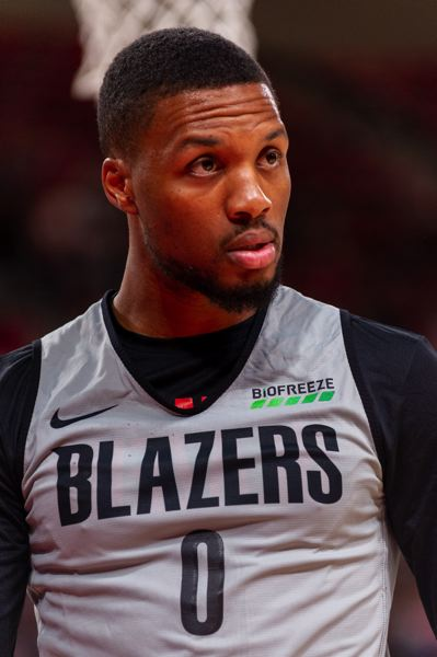 COURTESY PHOTO: DIEGO G. DIAZ - NBA general managers have voted Trail Blazers guard Damian Lillard the best leader of a team in the league.