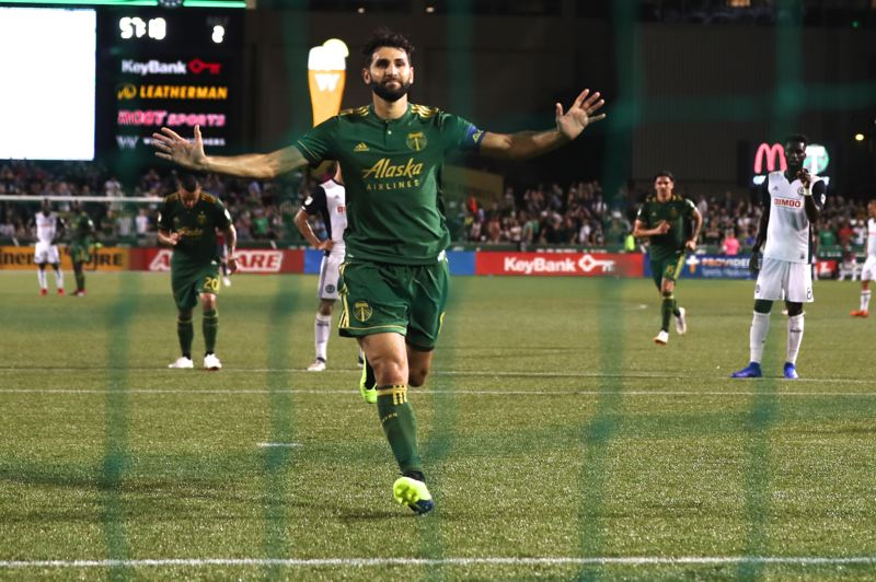 PMG PHOTO: JAIME VALDEZ - Diego Valeri goes into the MLS offseason with an uncertain future as the Portland Timbers plot strategy for 2020.