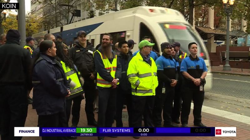 KOIN 6 NEWS - TriMet's new fare inspectors met with reporters Monday morning.