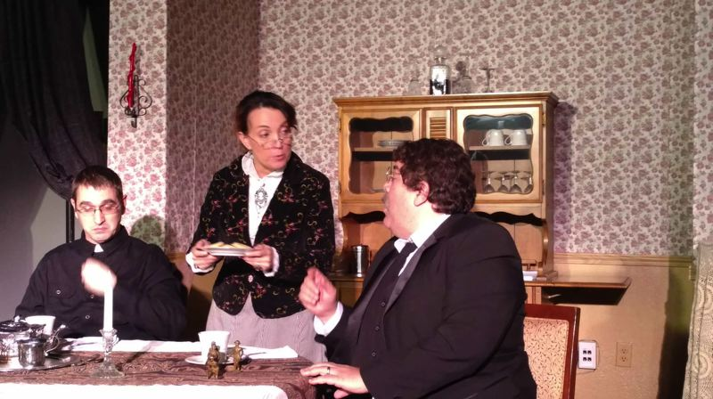 COURTESY PHOTO: SALT ACADEMY  - Arsenic and Old Lace centers on the eccentric and often downright sinister and evil shenanigans of the Brooklyn, N.Y.-based Brewster family.