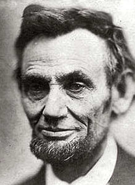 AN OFFICIAL PORTRAIT - President Abraham Lincoln