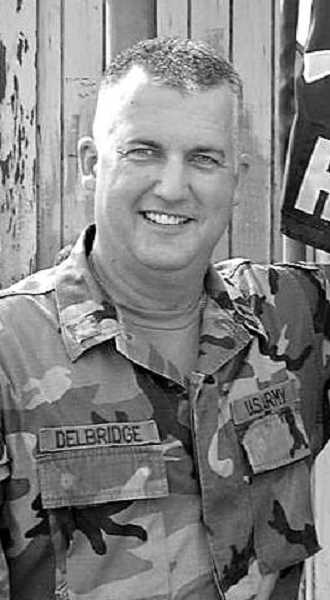 COURTESY PHOTO: SCOTT DELBRIDGE - Col. Scott Delbridge is the current Oregon National Guard state chaplain and the director of the Salem Vet Center. He has served in the National Guard since 1981.