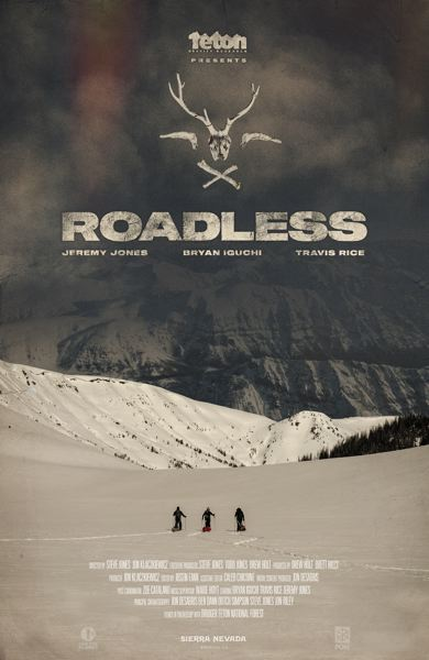 COURTESY PHOTO - 'Roadless' is a snowboard movie coming to Aladdin Theater, Oct. 25.