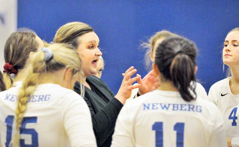 GARY ALLEN - Newberg coach Mackenzie Upchurch is hoping her senior-heavy squad can make some noise in the 6A postseason after putting together an impressive conference record.