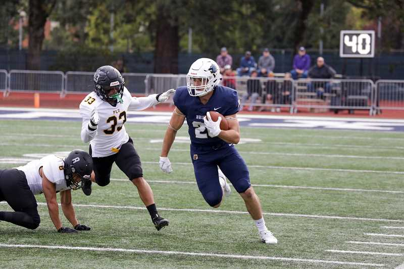 GFU PHOTO - The GFU football team is 2-4 on the season, 1-2 in Northwest Conference play.