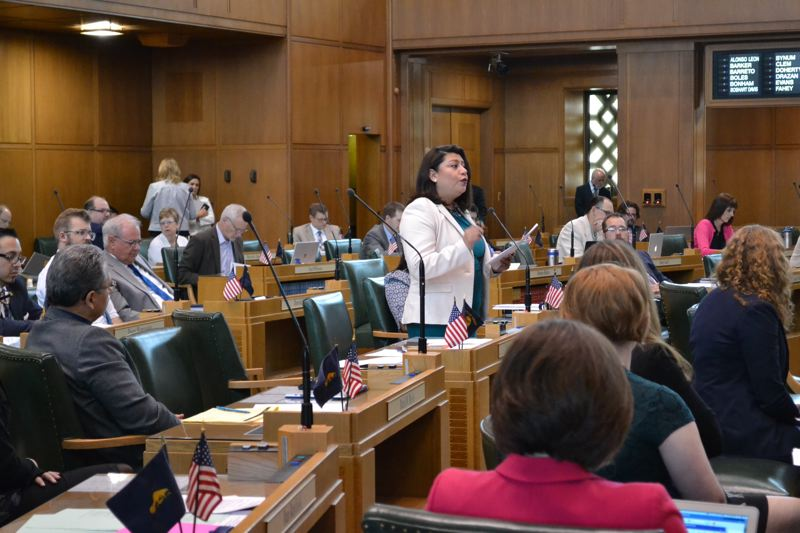 PMG FILE PHOTO - Rep. Teresa Alonso Leon, D-Woodburn, supported a bill to allow undocumented immigrants and others without proof of legal residence to get an Oregon driver's license.