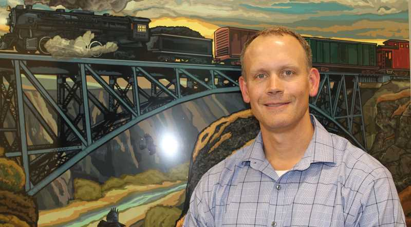 HOLLY M. GILL/MADRAS PIONEER - St. Charles Madras Administrator David Golda started work in that position in May, after spending two years as operations director for the Madras and Prineville St. Charles campuses. Golda grew up in the Portland area and moved his family to Central Oregon  in 2015, while still working for Providence Health and Services, in Portland.