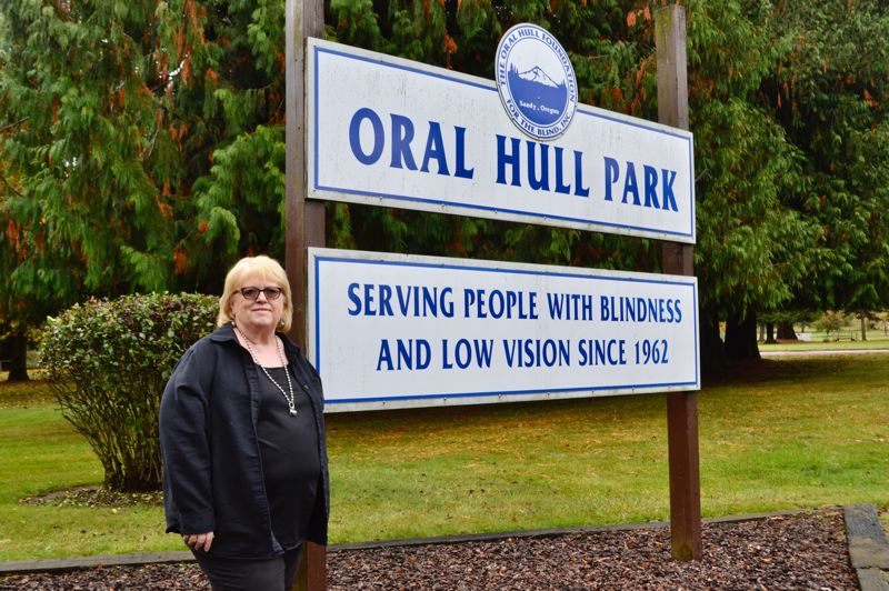 PMG PHOTO: BRITTANY ALLEN - Sharon Elder has been executive director of Oral Hull Park for the better part of a decade.