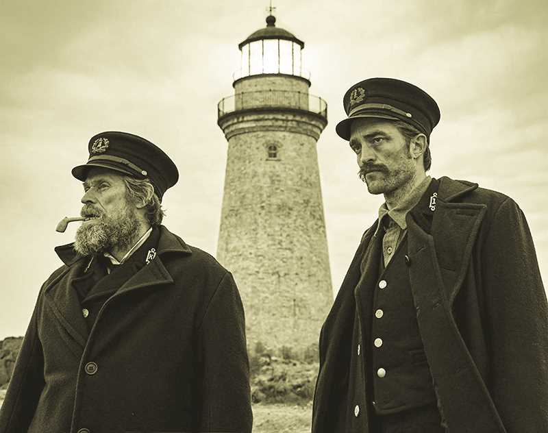 IMDB PHOTO - Willem Dafoe stars alongside Robert Pattinson in 'The Lighthouse,' a psychological horror film that hits area theaters on Friday.