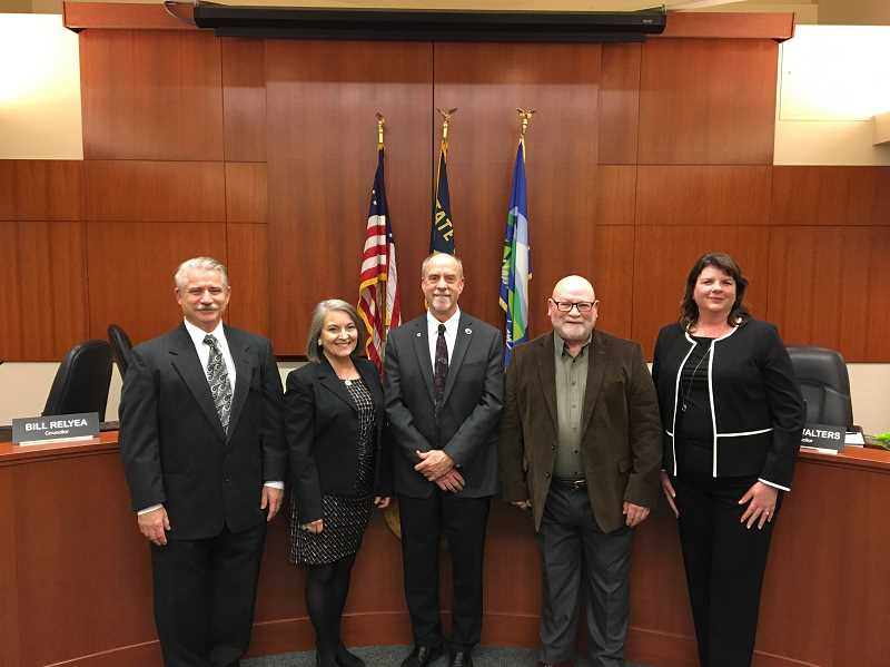 PMG PHOTO - At a recent work session, members of the West Linn City Council expressed dissatisfaction with rules mandated in state affordable housing bills.