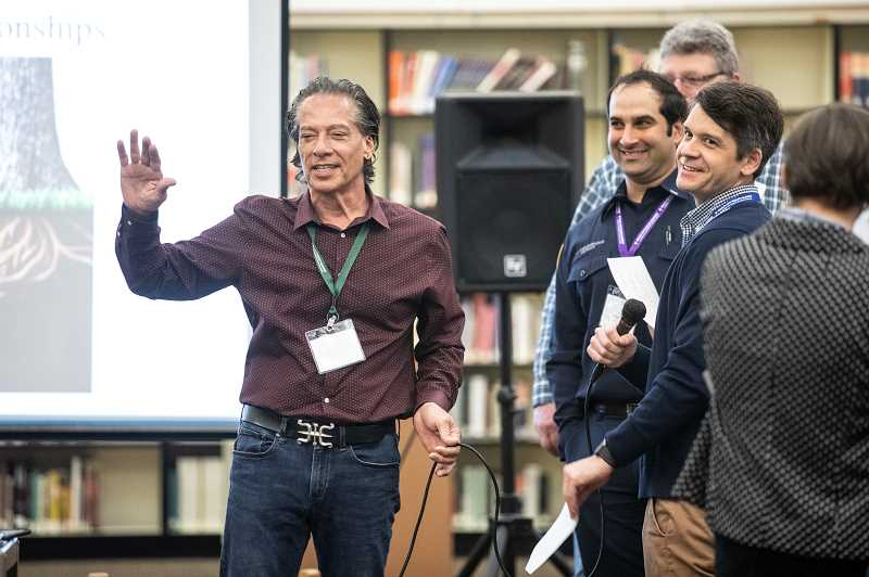 PMG PHOTO: JONATHAN HOUSE - Bill de la Cruz leads a workshop titled 'Using Relational Leadership to Create a Culture of Equity in a System Designed to be Equal' during the Multi-City Equity Summit.