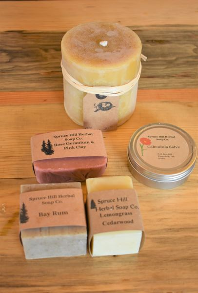 PMG PHOTO: EMILY LINDSTRAND - Robin Ceilianis soap and candles will be available at the Larch Mountain Country Artisans Heart of the Country Show and Sale.