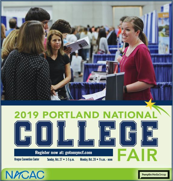 (Image is Clickable Link) Portland College Fair NACAC