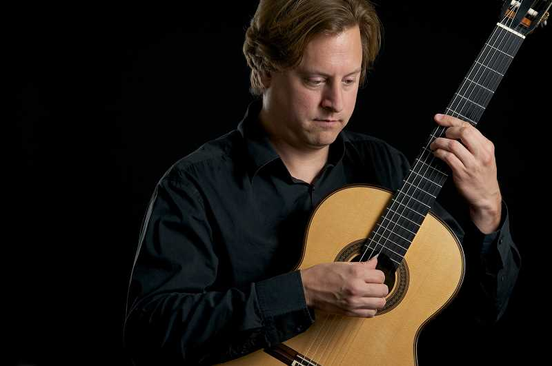 COURTESY PHOTO  - Jason Vieaux will open the Portland International Guitar Series 2019-2020 concert series Sunday, Oct. 27 with a 5 p.m. concert at First Congregational Church, 1126 SW Park Ave., Portland.