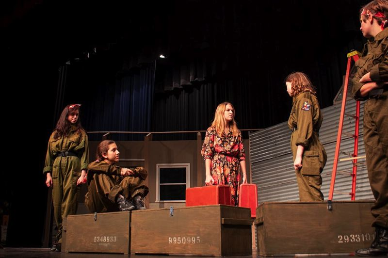 COURTESY PHOTO: ASHTON BISNER  - Scappoose High School drama students debut their fall play Decision Height, a drama set in Texas during World War II, this week.