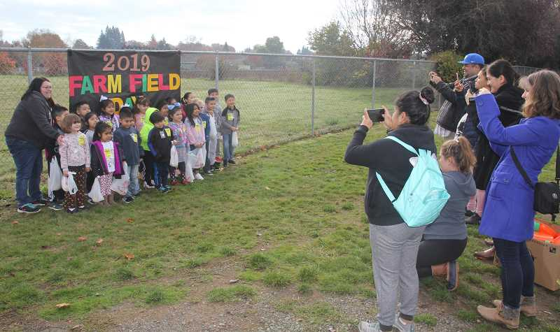 PMG PHOTO: JUSTIN MUCH - An annual fun, hands-on learning experience, Elementary Farm Field Day was staged on, Friday, Oct. 25, at Nellie Muir.