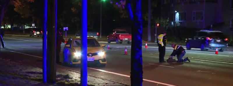 KOIN 6 NEWS - Officers responded to a fatal pedestrian crash at 185th Avenue.