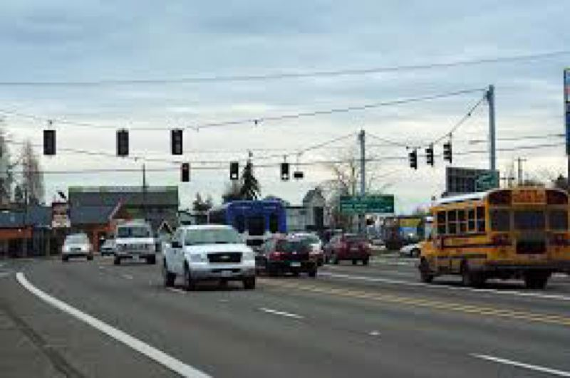 PMG FILE PHOTO - Tualatin Valley Highway in Aloha. The 19-mile corridor between Beaverton and Forest Grove has been designated as a high priority for projects funded by a proposed regional transportation bond that the Metro regional government is considering for November 2020.