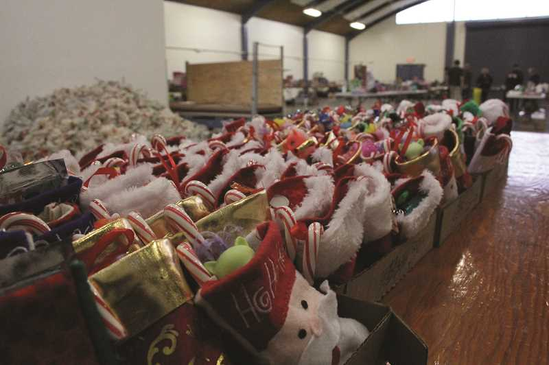 PMG FILE PHOTO - Local Lions Club has a goal of gathering more than 800 toys for local youth.