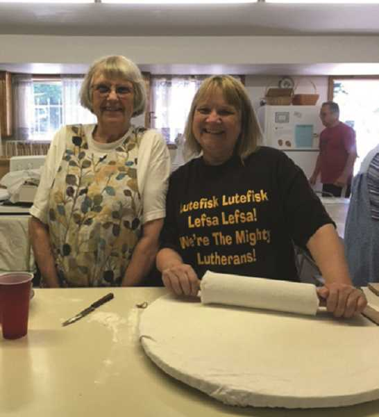 PMG FILE PHOTO - Making lefse requires dough to be rolled extremely thin and then cooked on a special griddle.