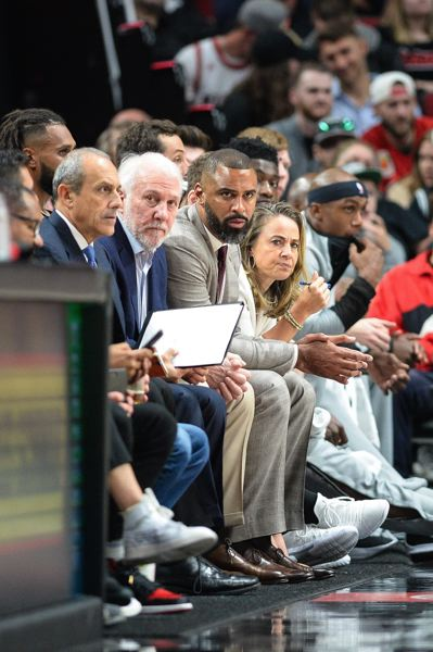 PMG FILE PHOTO: CHRISTOPHER OERTELL - Portland product Ime Udoka spent seven seasons on the NBA coaching bench alongside the San Antonio Spurs Gregg Popovich. Now he returns to the Rose City as the lead assistant with the Philadelphia 76ers.