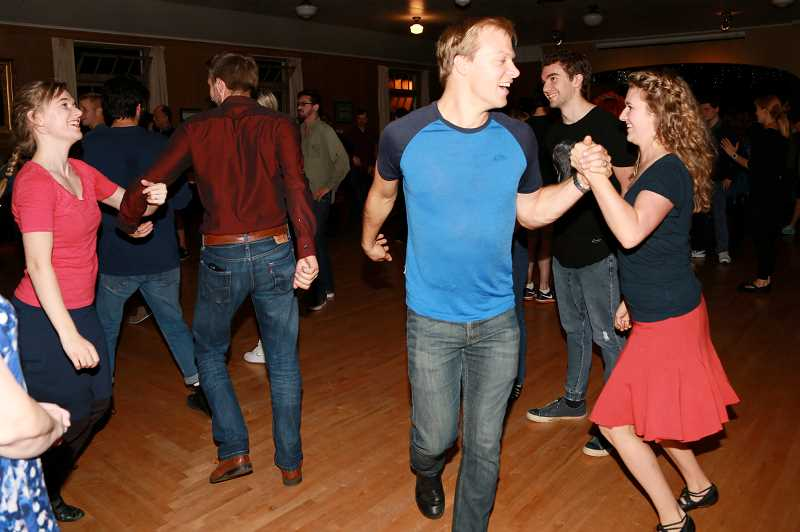 COURTESY PHOTO  - Doors open at 7:30 p.m. Nov. 1 for a wee dance lesson before the Irish Ceili dance at the grange located in Tualatin. Admission is $12, no partner or experience necessary.