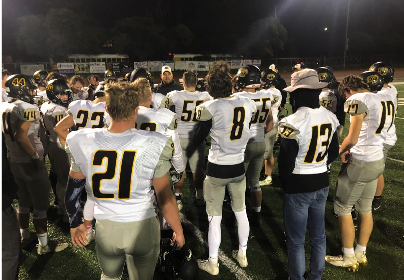PMG PHOTO: STEVE BRANDON - The St. Helens Lions will go on the road for their final game of 2019, when they play at Putnam on Friday night.
