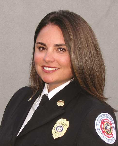 PMG FILE PHOTO - Chief Deputy State Fire Marshal Mariana Ruiz-Temple has strong ties to Woodburn and WFD