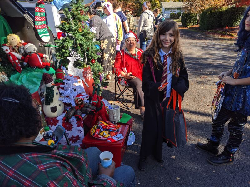 PMG PHOTO: BRITTANY ALLEN - Gresham United Methodist Church hosted a Trunk or Treat event Sunday afternoon, Oct. 27.