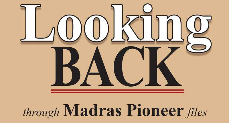 MADRAS PIONEER LOGO - The Madras Pioneer looks back over the past 100 years of newspaper archives.