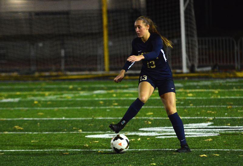 PMG PHOTO: DEREK WILEY - Canby senior Ally Odell played her final soccer game for the Cougars Tuesday.