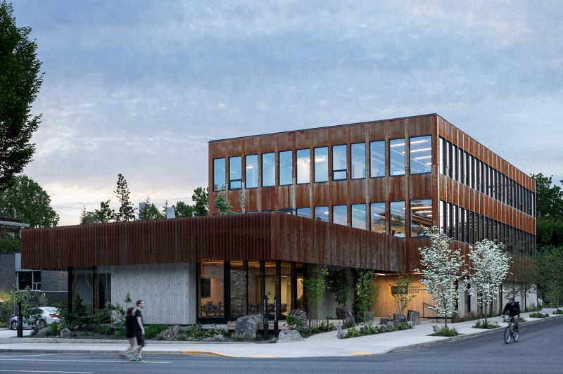 COURTESY: LEVER ARCHITECTURE - The Nature Conservancy Conservation Center at Belmont St. and 14th Avenue, by LEVER Architecture, which also won for Redfox Commons.