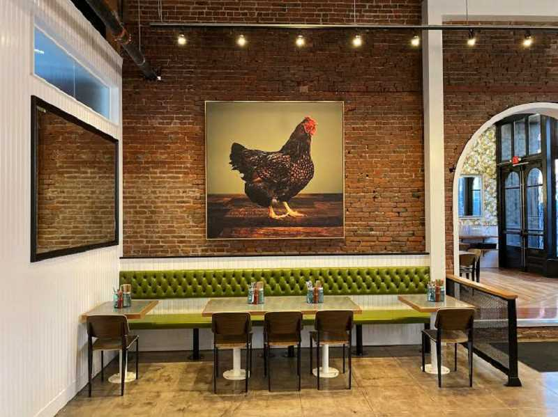 COURTESY PHOTO  - Get a preview of Bae's Chicken sandwiches Saturday Nov. 2 at noon. The fast-casual organic chicken restaurants opens for service Wednesday, Nov. 6.