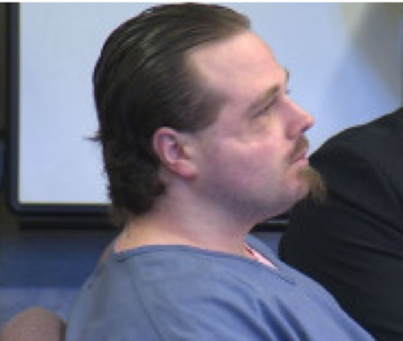 KOIN 6 NEWS - Jeremy Christian during his Nov. 1 pre-trial hearing.
