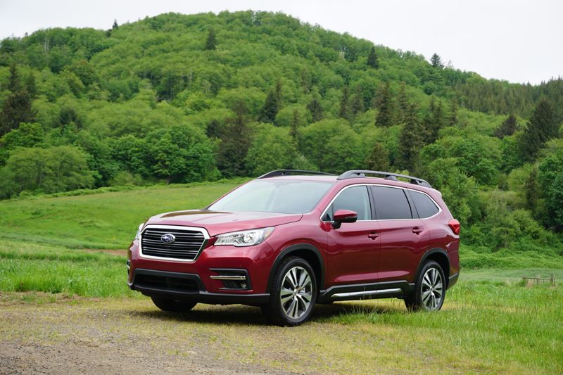 PMG PHOTO: JEFF ZURSCHMEIDE - The 2020 Subaru Ascent comes standard with a peppy turbocharged 2.4-liter engine and the company's legendary Symmetrical All-Wheel-Drive system.