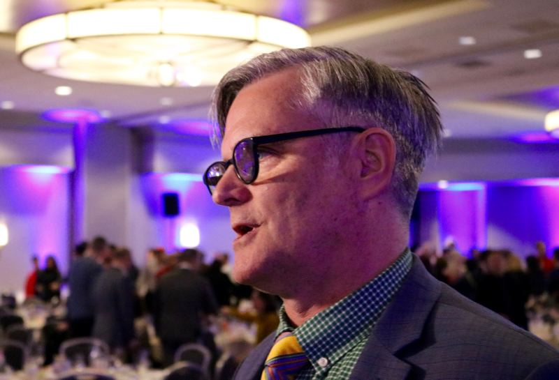 PMG PHOTO: ZANE SPARLING - Former Portland Mayor Sam Adams is back in Portland, and may be pushing to rehabilitate his public image.