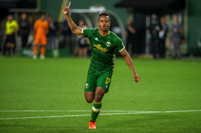 COURTESY PHOTO: DIEGO G. DIAZ - The Portland Timbers are looking for several new players to get them back into MLS championship contention, including help or depth at forward to go with forward Jeremy Ebobisse.