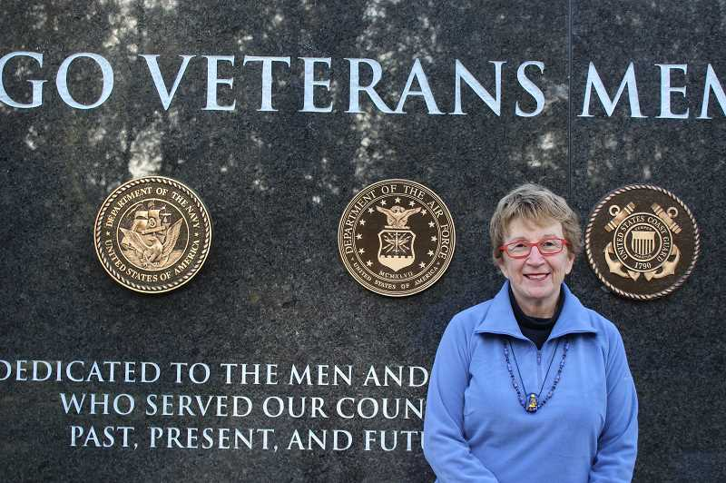 PMG PHOTO: COREY BUCHANAN - Angelica Pilato served as a club officer in the U.S. Air Force during the Vietnam War.