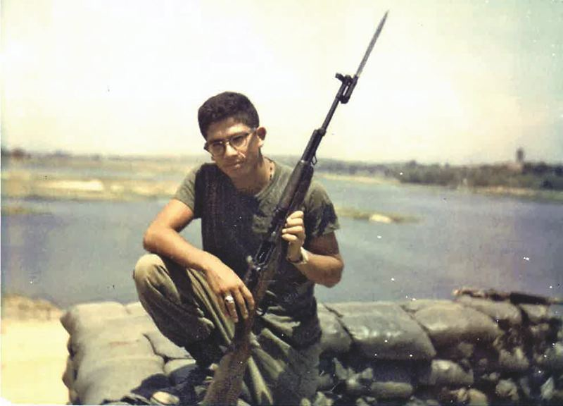 COURTESY: BALTAZAR GONZALEZ - Gonzalez served two tours of duty in Vietnam in the First Marine Division.