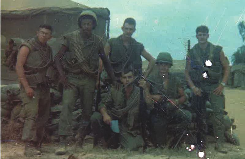 COURTESY: BALTAZAR GONZALEZ - Gonzalez served three years as an active member of the U.S. Marines from 1968-1971.