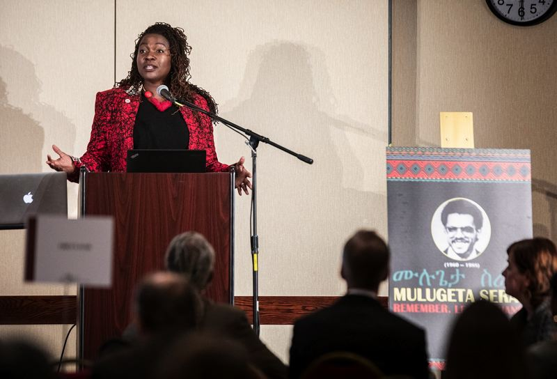 PMG FILE PHOTO - Nkenge Harmon Johnson of the Urban League of Portland, plans to run for a Salem-area Senate seat held by the late Jackie Winters.