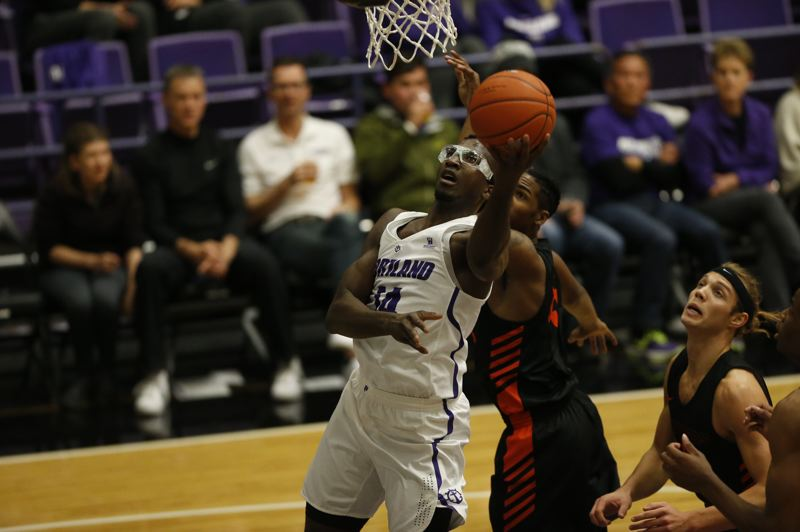 COURTESY PHOTO: UNIVERSITY OF PORTLAND - Junior 6-9 forward Tahirou Diabate is expected to be an inside presence this season as a returning starter at the University of Portland.