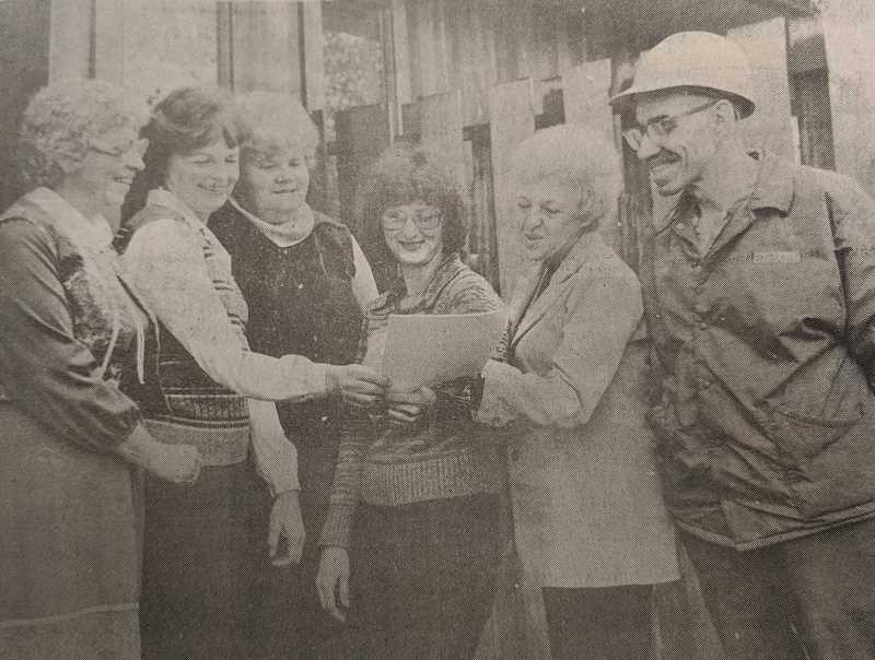 ARCHIVE PHOTO - In 1979, the Estacada School District celebrated classified employees week.