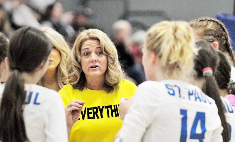 GRAPHIC PHOTO: GARY ALLEN - Bucks coach Lesli Hiller is hoping for a repeat of last year's state championship run.