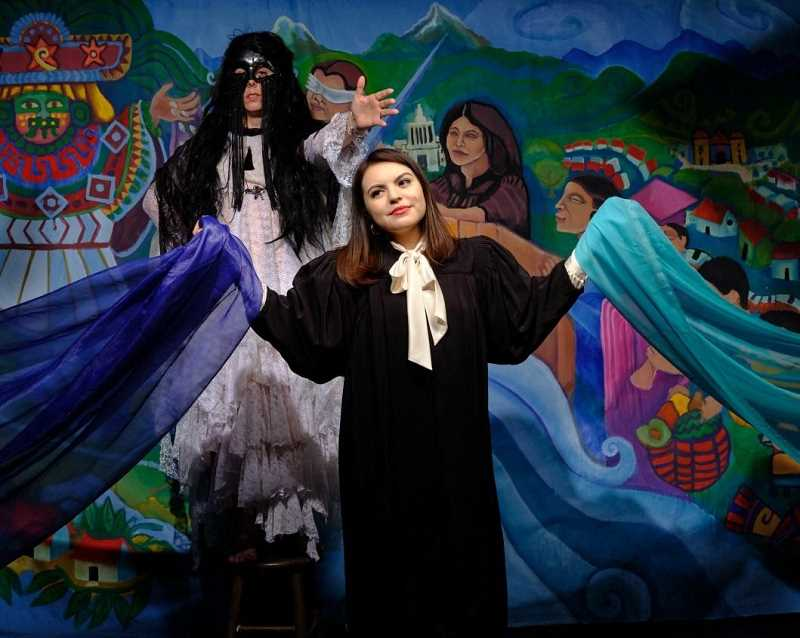 COURTESY PHOTO - Judge Torres is a story of magic and Mayan folk tales, of loss and abuse, and ultimately, of triumph against all odds. There will be a free performance today at Clackamas County Community College.